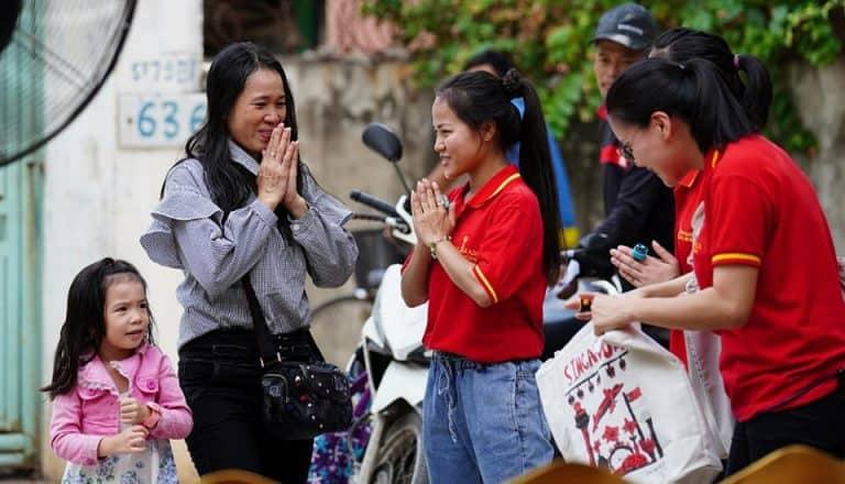 Free Vegetarian Event in Cambodian Guan Yin Citta Practising Center-Pic 4
