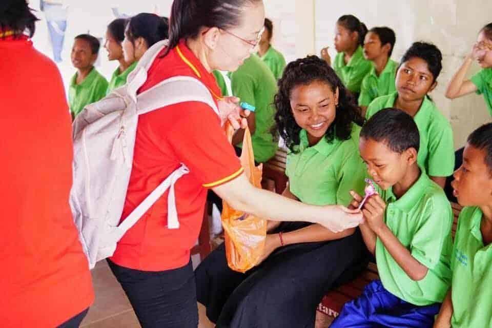 Donation to Cambodia Children's Hospital Pic 4