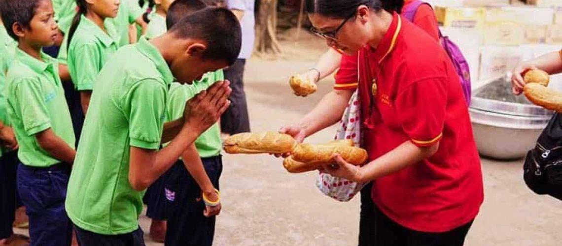 Donation to Cambodia Children's Hospital Pic 1